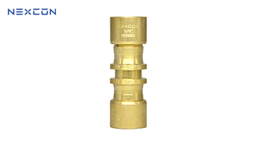 Brass Straight Coupler